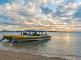 Mystery Island Sunset Drone