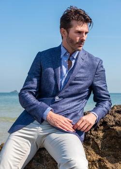 Evening mens jacket by Corneliani