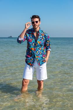 Paul & Shark beach shirt