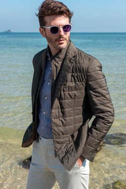 Summer mens casual jacket
