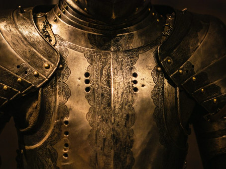 Not without my armour