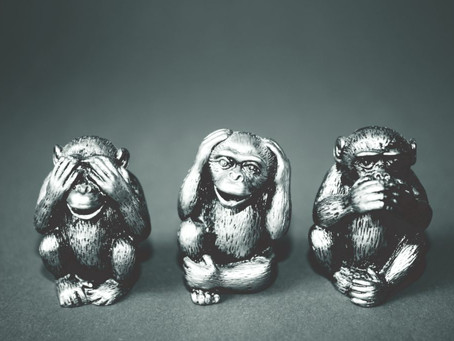 The Three Wise Monkeys of Normalcy