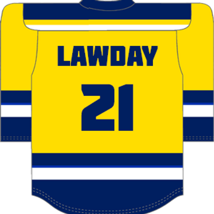 #21 Matt Lawday Home Shirt