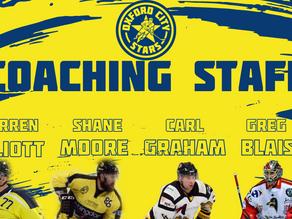 Stars' coaching set up announced