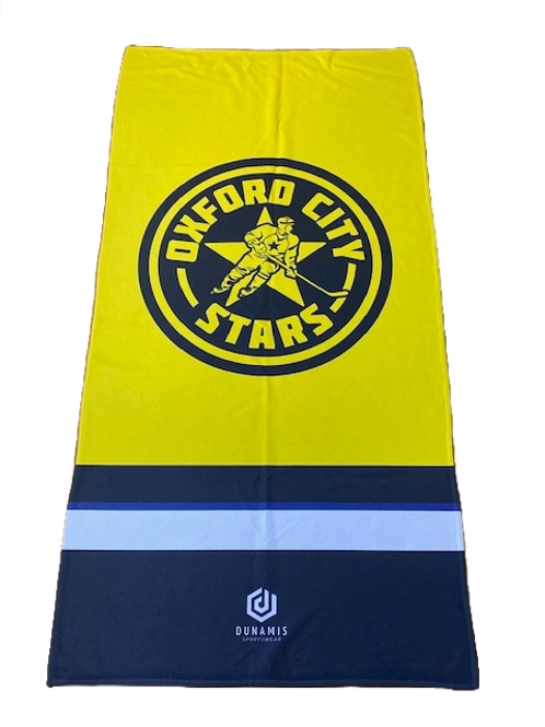 Stars Towel Yellow