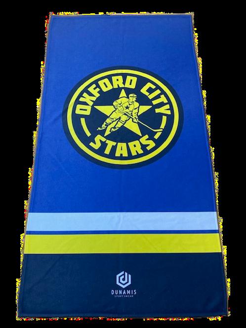 Stars Towel Blue
