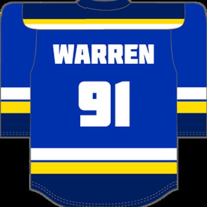 #91 Jay Warren Away Shirt