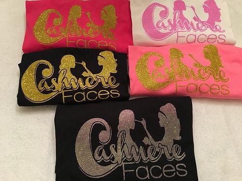 CashmereFaces Logo T-Shirts