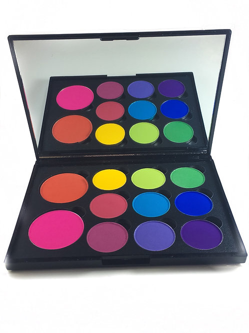 """Colour Block"" 11-Well Eyeshadow Palette"