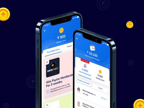 MediBuddy Wallet Design