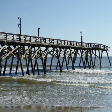 The Surfside Beach Pier:  A Never Ending Storm?