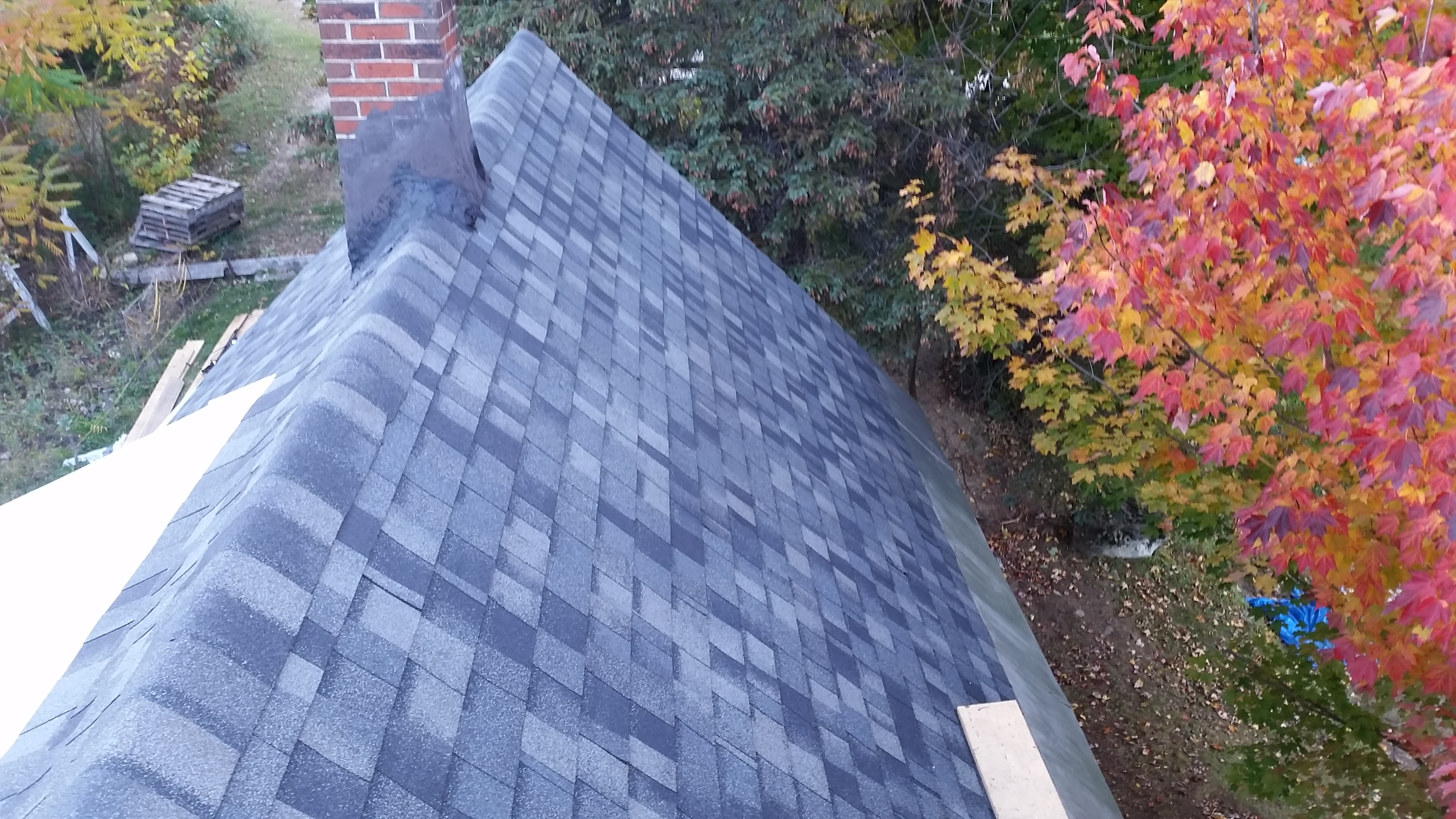 New asphalt shingles