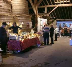 Pop-up Restaurant in The Walled Garden Listed Hay Barn