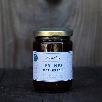 Fruité Prune Thym serpolet