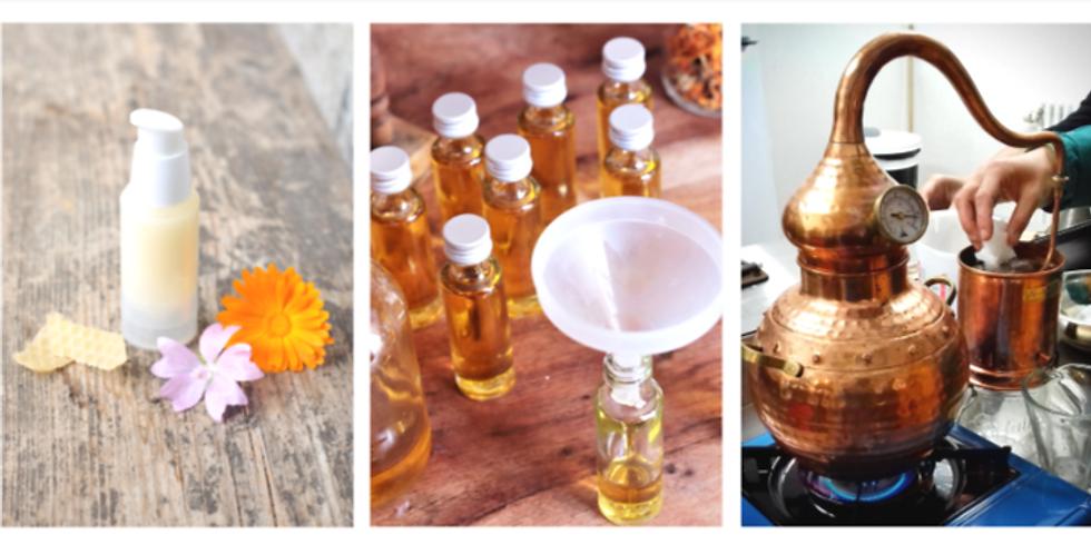ATELIER Cosmétique naturel aux plantes - Fabrication d'une crème de soin