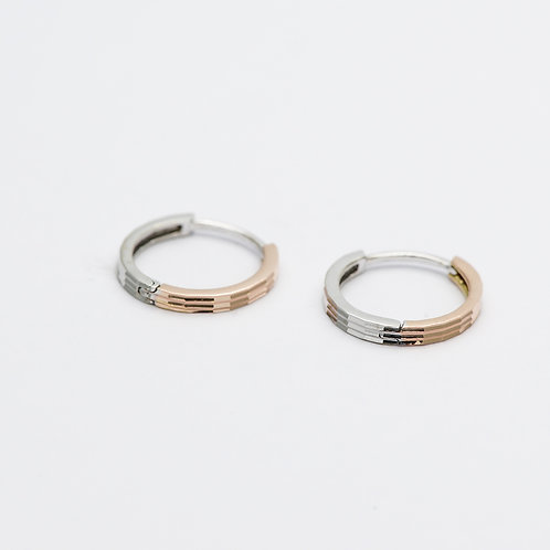 14K Duo Earrings
