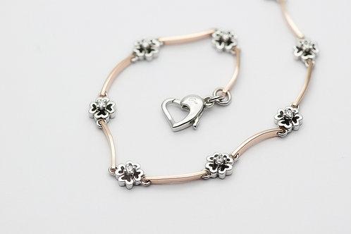 14K Cubic Zirconia Bracelet