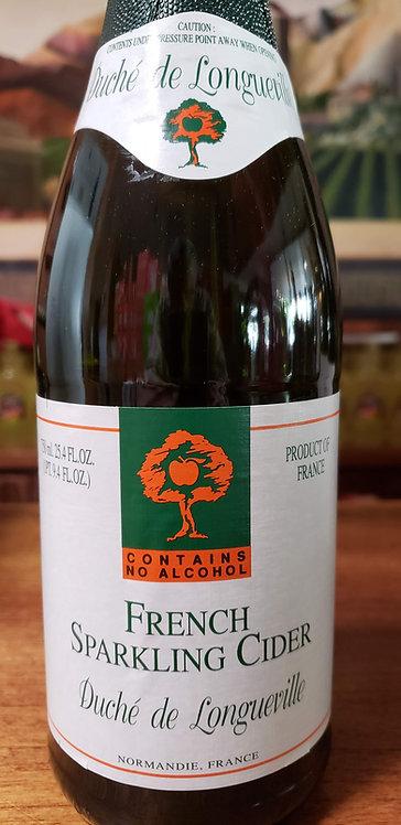 Duche de Longueville French Sparkling Cider (Contains NO Alcohol)