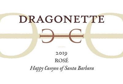 Dragonette Rosé, Happy Canyon of Santa Barbara 2019