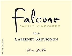 Falcone Cabernet Sauvignon, Paso Robles 2018