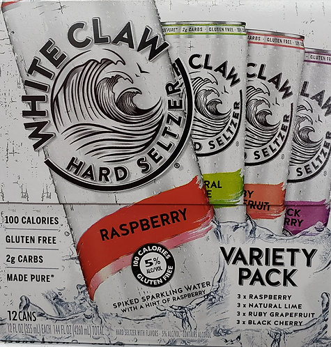 White Claw Variety Pack 12