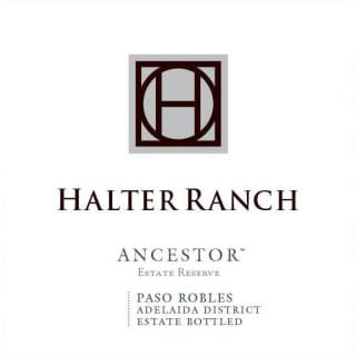 "Halter Ranch ""Ancestor"", Adelaida District Paso Robles 2017"