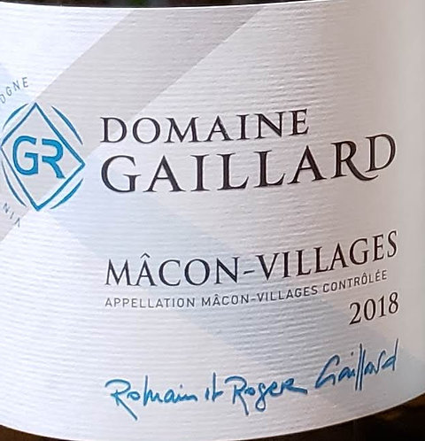 Domaine Gaillard Macon-Villages 2018