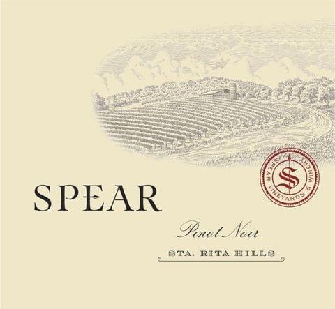 Spear Estate Pinot Noir, Sta Rita Hills 2018