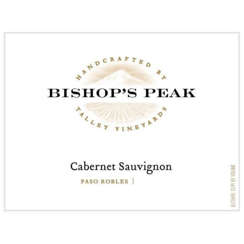 Bishop's Peak Cabernet Sauvignon, Paso Robles 2017