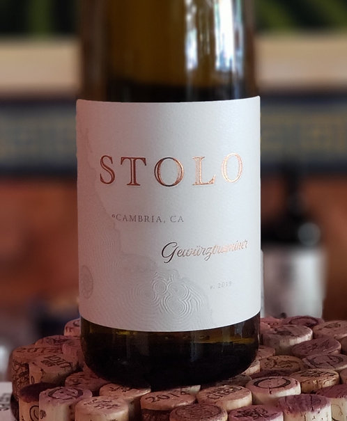 Stolo Gewurtztraminer Estate, SLO County 2019