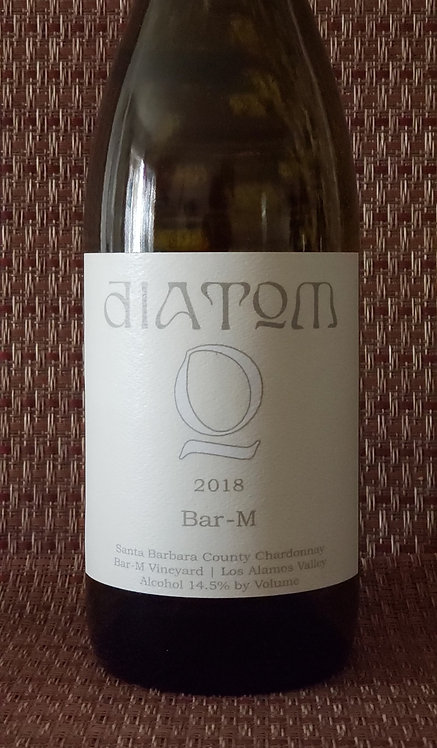 Diatom Chardonnay, Bar-M Vineyard Los Alamos Valley Santa Barbara County 2018