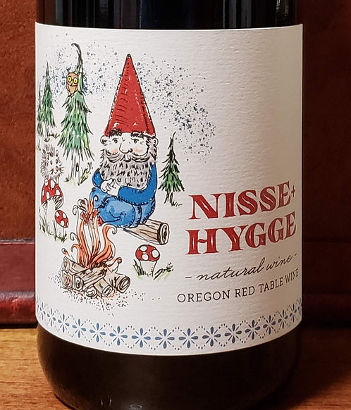 Leah Jorgensen Cellars Nisse-Hygge Natural Wine Oregon Red Table Wine 2018