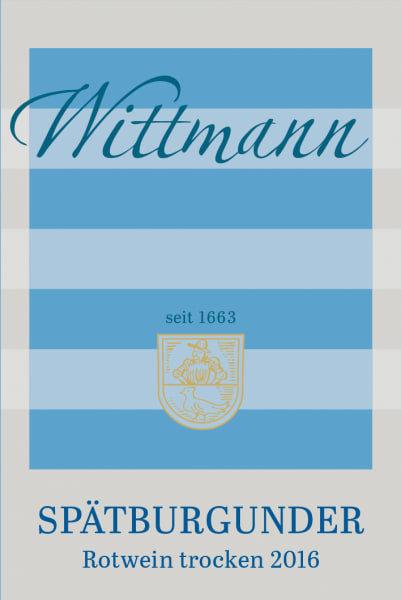 Wittmann Spatburgunder, Rheinhessen 2016