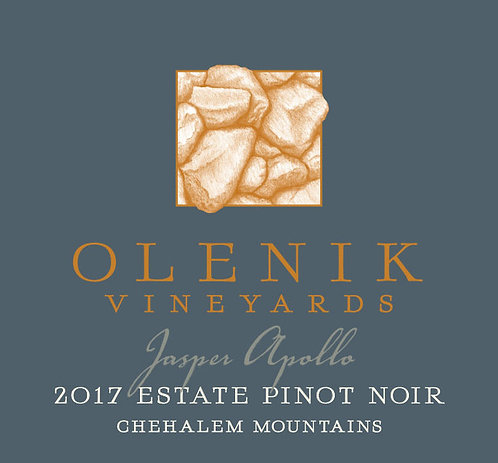 "Olenik Vineyards Estate ""Jasper Apollo"" Pinot Noir,  Chehalem Mountains 2017"