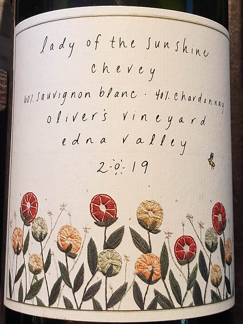 Lady of the Sunshine Chevey Oliver's Vineyard Edna Valley 2019