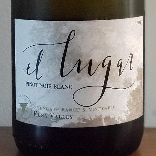 El Lugar Pinot Noir Blanc, Greengate Ranch & Vineyard Edna Valley 2019