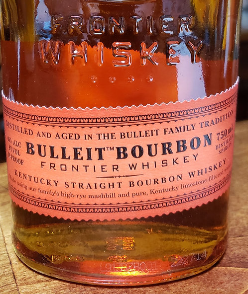 Bulleit Bourbon Frontier Whiskey 750ml