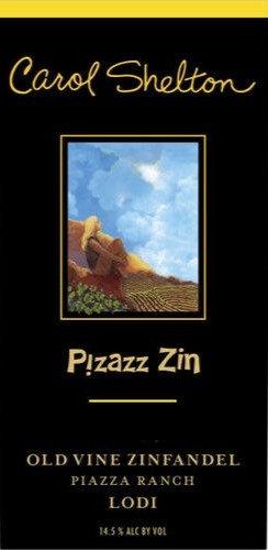 Carol Shelton Pizazz Zin Piazza Ranch Lodi 2018