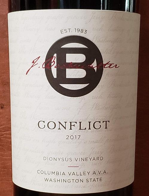 J. Bookwalter Conflict Red Wine Dionysus Vineyard Columbia Valley 2017