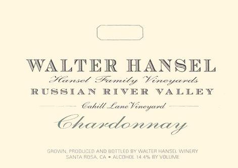 Walter Hansel Chardonnay, Cahill Lane Russian River Valley 2017