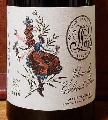 Leah Jorgensen Cellars Blanc de Cabernet Franc, Mae's Vineyard, Applegate Valley
