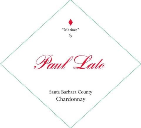 """Paul Lato """"Matinee"""" Chardonnay, Santa Barbara County 2019"""
