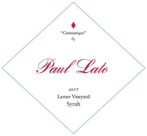 "Paul Lato ""Cinematique"" Syrah, Larner Vnyd Ballard Canyon 2017"