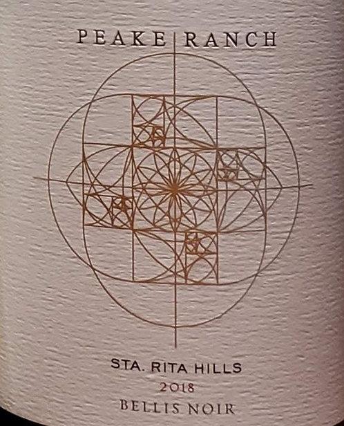 Peake Ranch Bellis Noir, Sta Rita Hills 2018