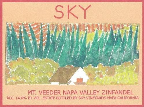 Sky Zinfandel, Mt. Veeder Napa Valley 2014