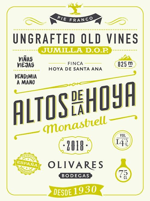 Altos de la Hoya Monastrell, Jumilla 2018