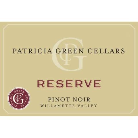 Patricia Green Cellars Pinot Noir Reserve, Willamette Valley 2019