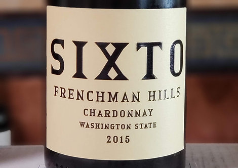Sixto Chardonnay, Frenchman Hills 2015