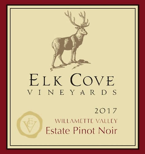 Elk Cove Estate Pinot Noir, Willamette Valley 2017