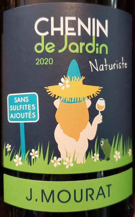 J Mourat Chenin de Jardin, IGP Val de Loire 2020